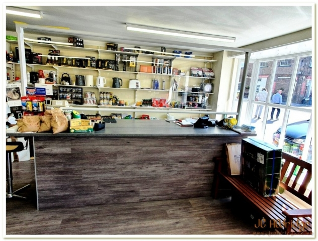 Gloucestershire builders merchants staff counter